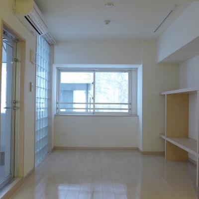 キッチンからの眺め。独り占め!※写真は別部屋になります。