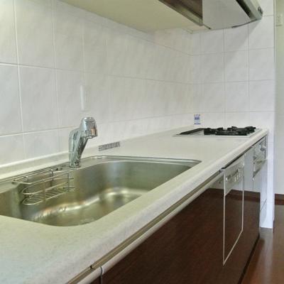 かなり広いキッチン。食洗機つき!