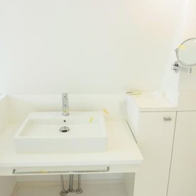 洗面台可愛すぎる!