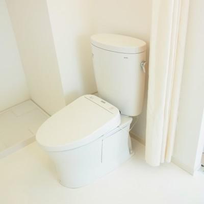 トイレもウォシュレットです