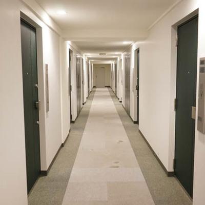 共用廊下きれい。