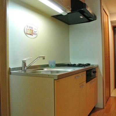 キッチンのとなりにあるのは洗濯機スペース