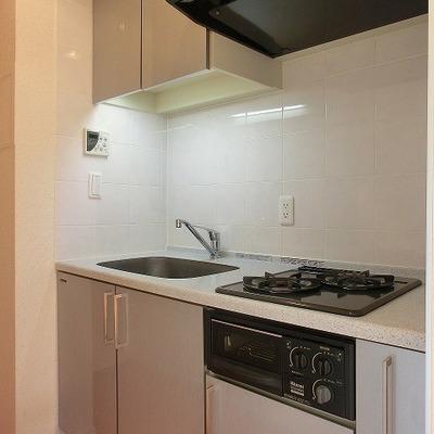 シンクの大きめの2口キッチン!※画像は別室です