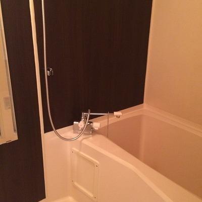 お風呂は大きめのものがはいっています