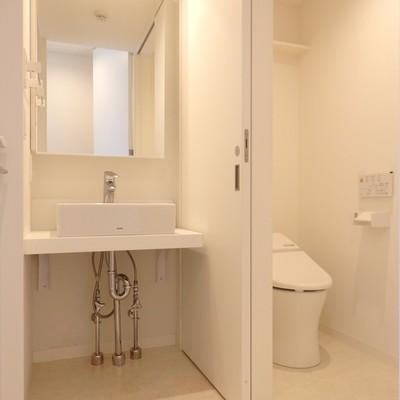 きれいな洗面所スペース