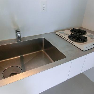 2口コンロのかっこいいキッチン※写真は前回募集時のものです
