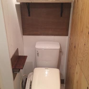 トイレにも木。いいですね※写真は、前回募集時のものです