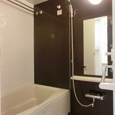 浴室乾燥のあるバスルーム