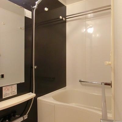 浴室乾燥に追い炊き機能付きのバスルーム。※写真は前回募集時のものです