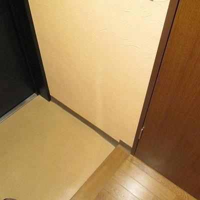 玄関スペースもゆったり。