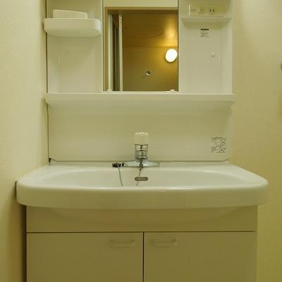 洗面台がゆったりめ ※写真は前回募集時のものです。