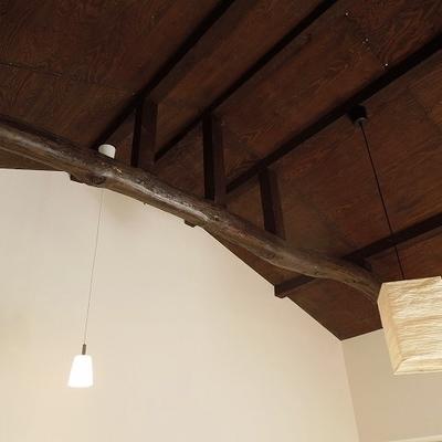 1階も2階も梁が見えていてかっこいい※画像は101のものです
