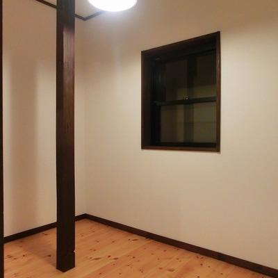 奥にある小部屋