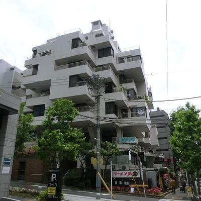 渋谷の真ん中にあるマンション。