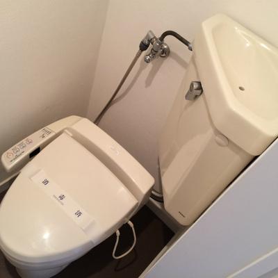 トイレは既存利用です