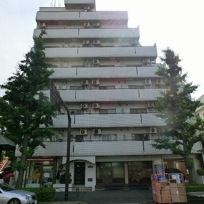ビンテージ8階建てマンション