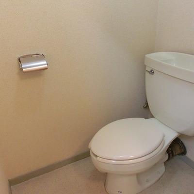 トイレもきれいですね