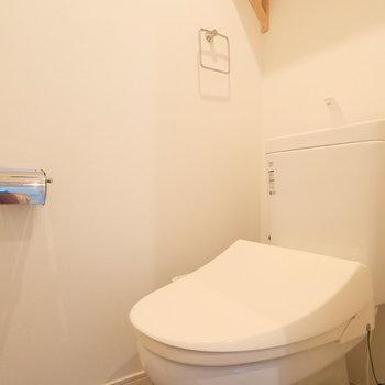 トイレはウォシュレットつきですよ!