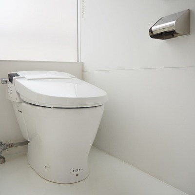 トイレはキレイ!