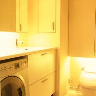 洗面所にトイレ同室※画像は別室です
