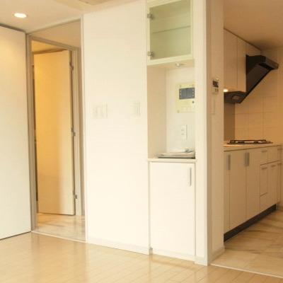 キッチンスペースも別になっています※画像は別室です
