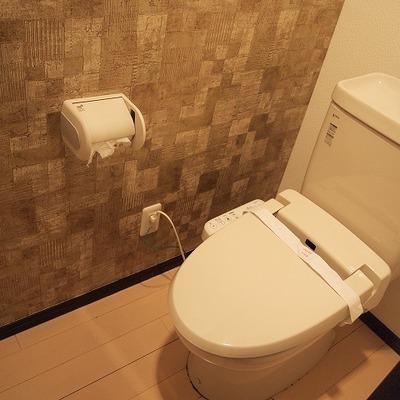 トイレの壁までかっこいい