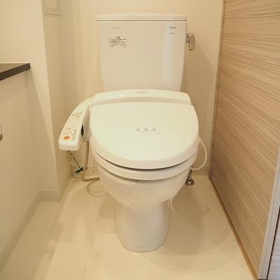 トイレはウォシュレット付き♪※写真は別のお部屋です