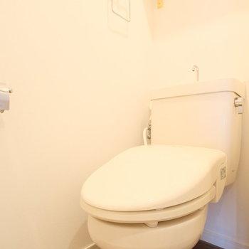 トイレにも、、、