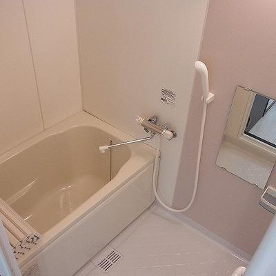 浴室も十分な大きさがあります。