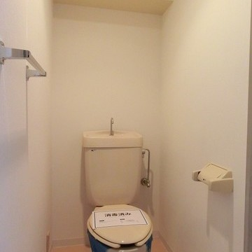 トイレもきれいですね。