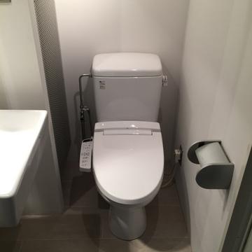 トイレもライトアップ