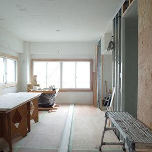 10帖の洋室。※画像は工事中です。