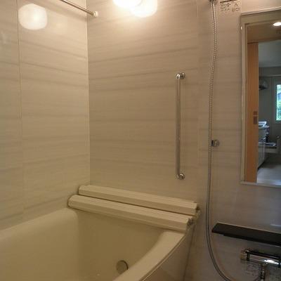 お風呂にはミストサウナもついています。