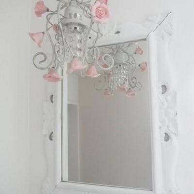 鏡も可愛い!
