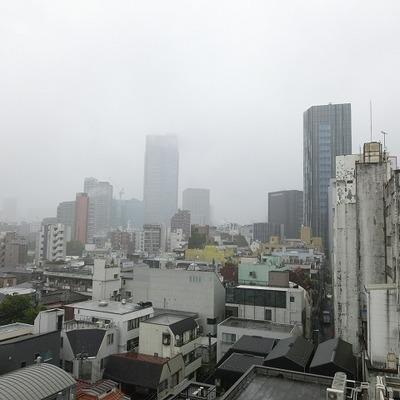 都会の眺め