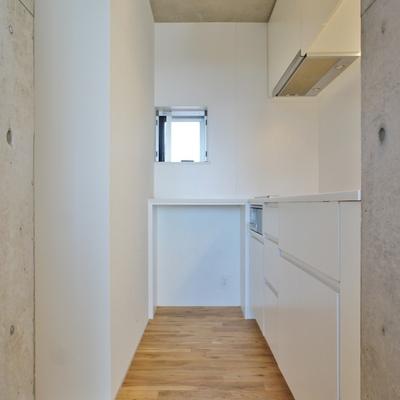 キッチンはこんなスペースに※前回募集時の写真です
