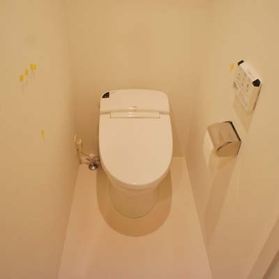 トイレはタンクレスです※前回募集時の写真です