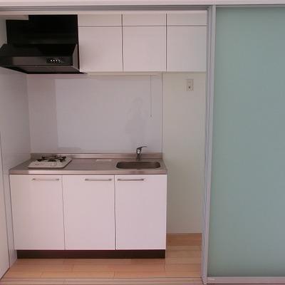 キッチンは収納できます。