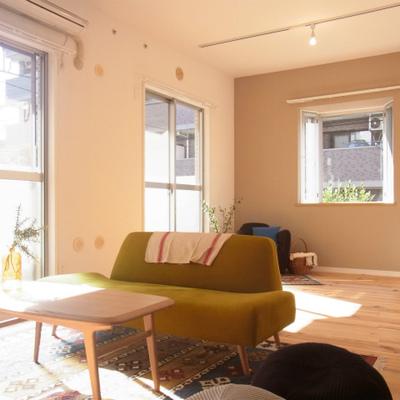 風とおりの良い、素敵なお部屋に。※写真はイメージ