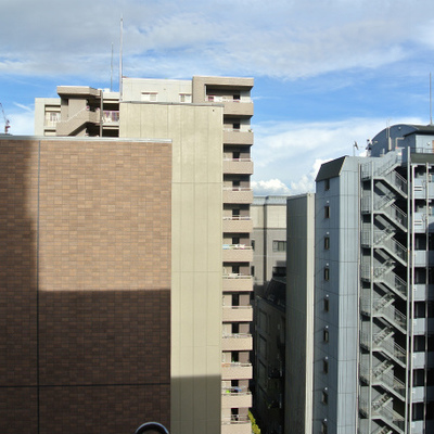 最上階11階なので眺めがいいいい