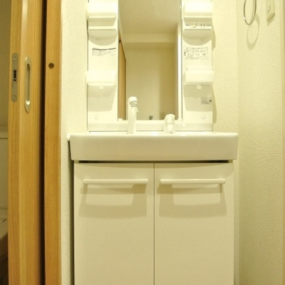 独立の洗面台