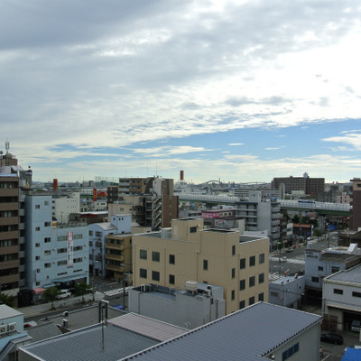この大阪西半分の風景!