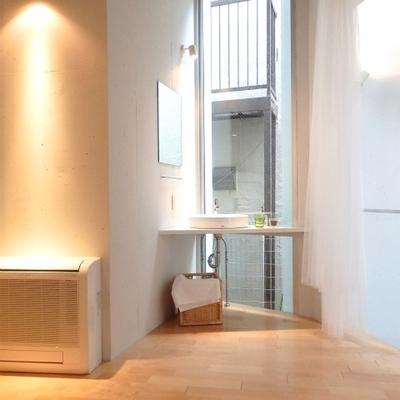 洗面台はココ(2階)