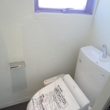 トイレも新品!