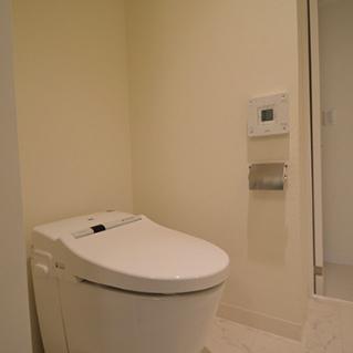 トイレはウォシュレット!白!※写真は別部屋です