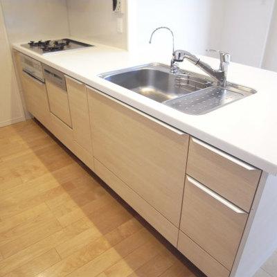 ビルトイン食器洗浄機が!!しかも浄水器まで付いてます!!
