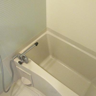 浴槽も十分な大きさです。