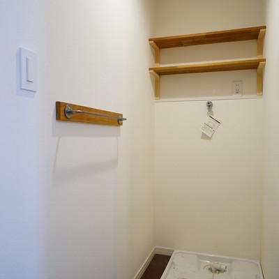 お風呂の前は脱衣所に○※前回募集時の写真です