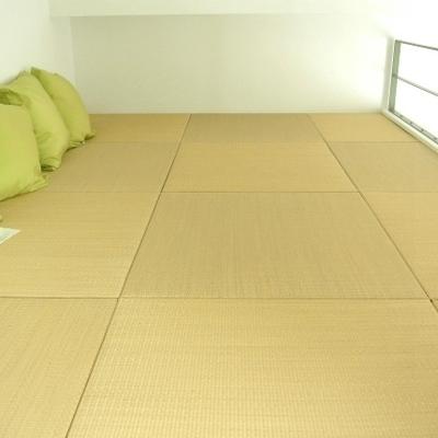 ロフトに上がると琉球畳です※画像は別部屋