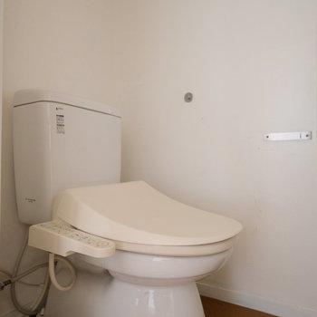 トイレはウォシュレットです!